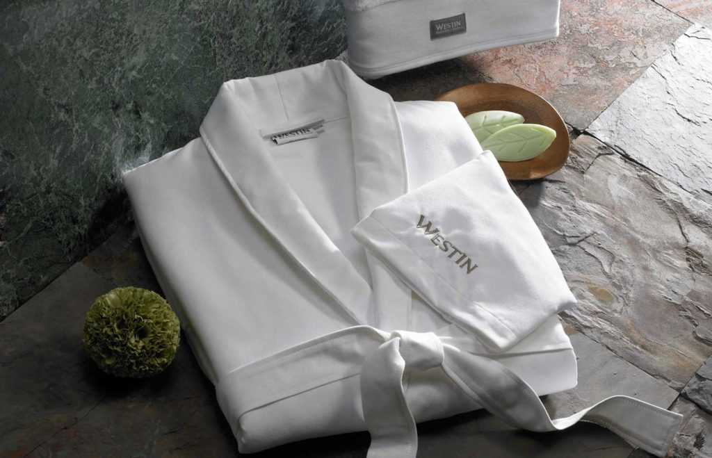 westin soft, plush spa robe