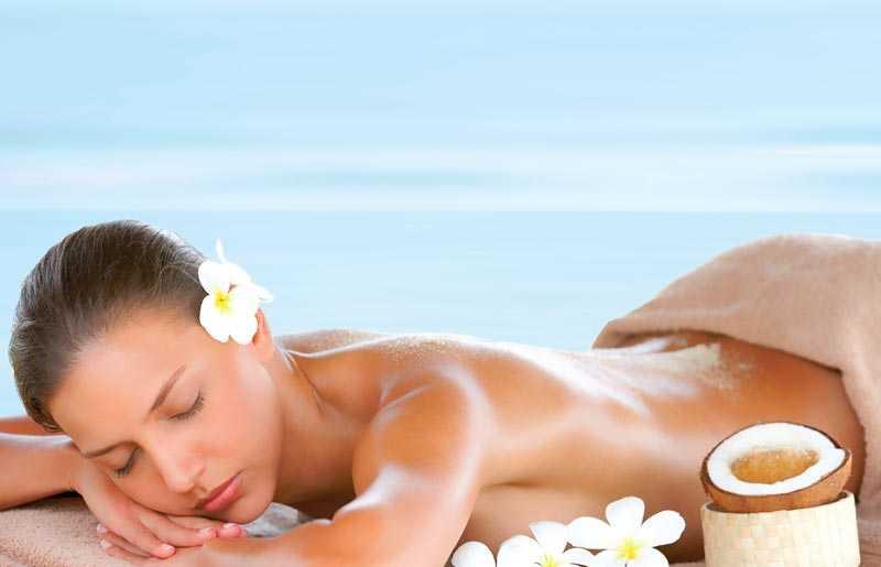 Pure Fiji Massage with coconut