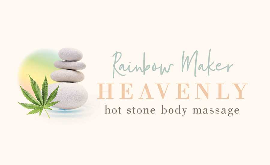 RAINBOW MAKER, HEAVENLY HOT STONE BODY MASSAGE