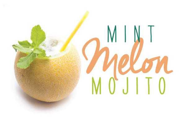 Mint Melon Mojito